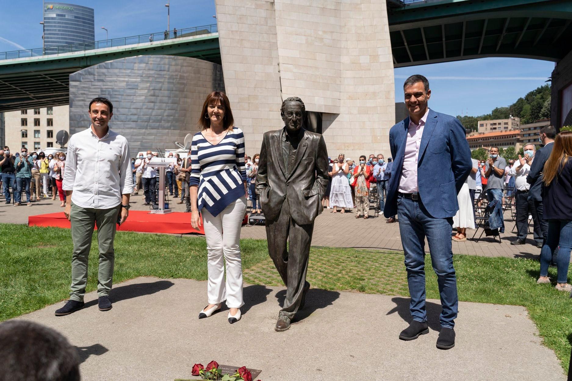 Acto con Pedro Sánchez en Bilbao 12J