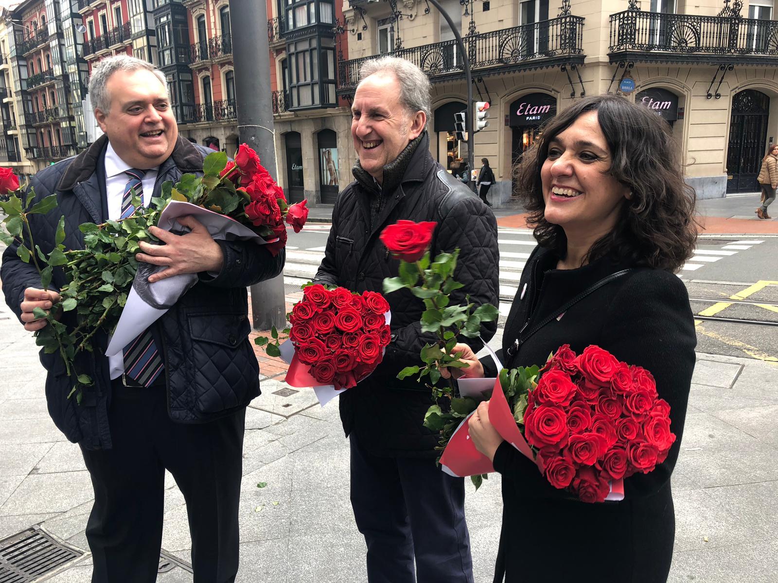 Reparto electoral en Bilbao