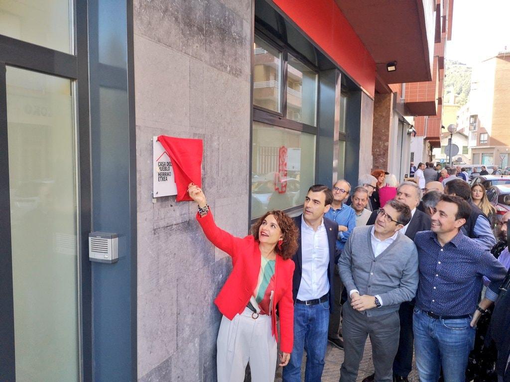 Inauguración Casa del Pueblo Trapagaran