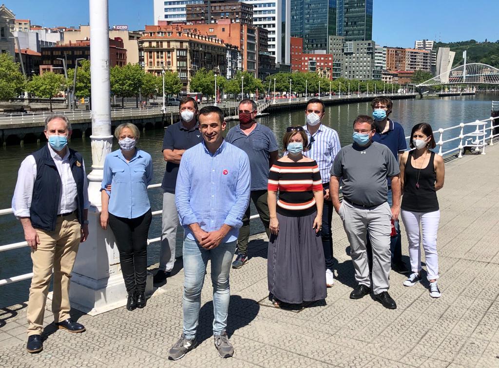 Acto político en Bilbao 30 junio 2020
