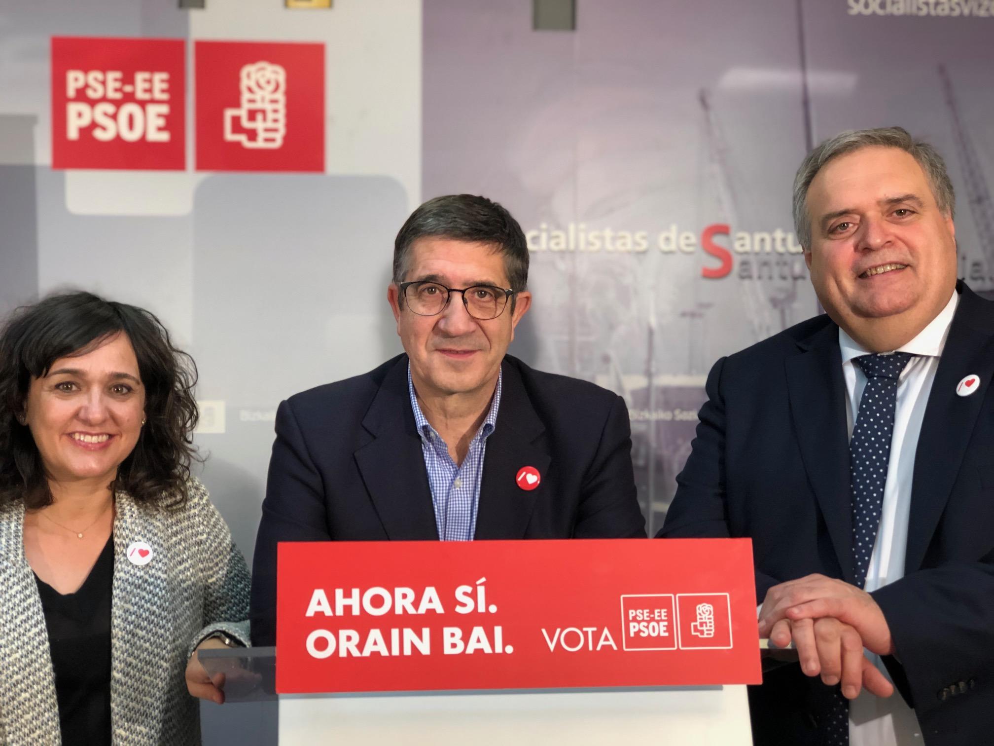 Acto político en Santurtzi 10N