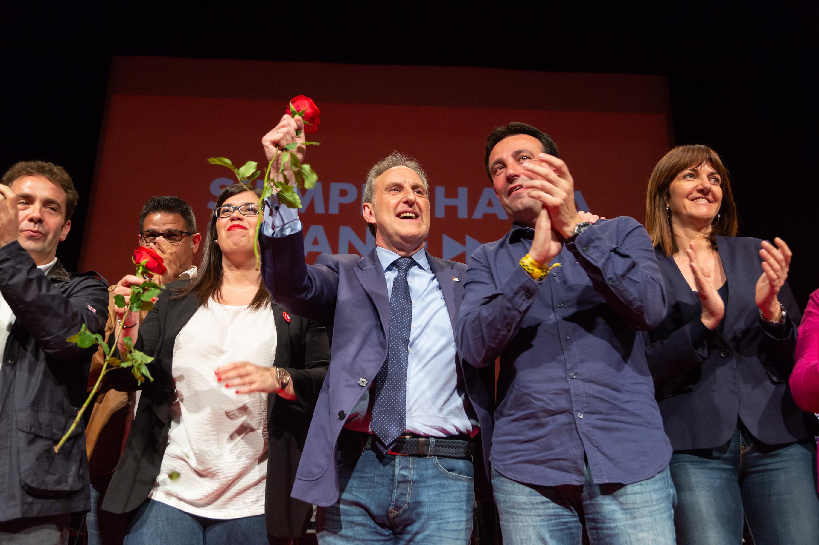 Acto político Teatro Campos Bilbao