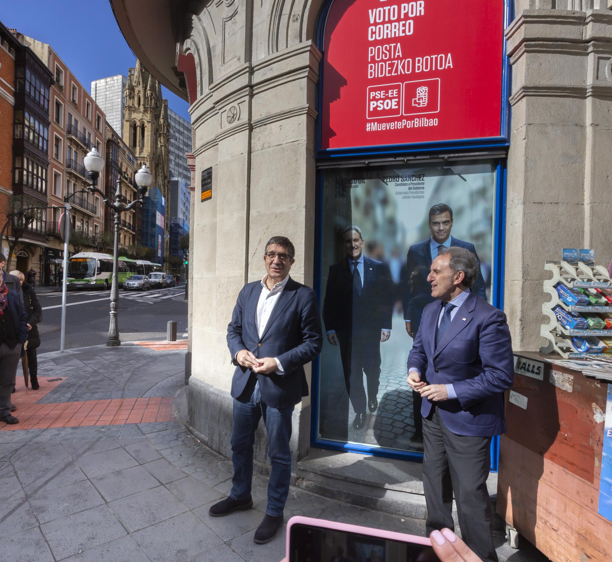 Inauguración Oficina de Información Ciudadana de PSE-EE en Bilbao