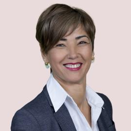 Vicepresidenta 1º de la Mesa